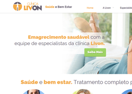 Desenvolvimento de Site e Marketing Digital Clínica Livon