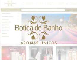 Desenvolvimento de Loja Virtual – Botica de Banho em Joinville