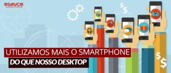 Aplicativos Móveis - Aumento do uso de smartphones