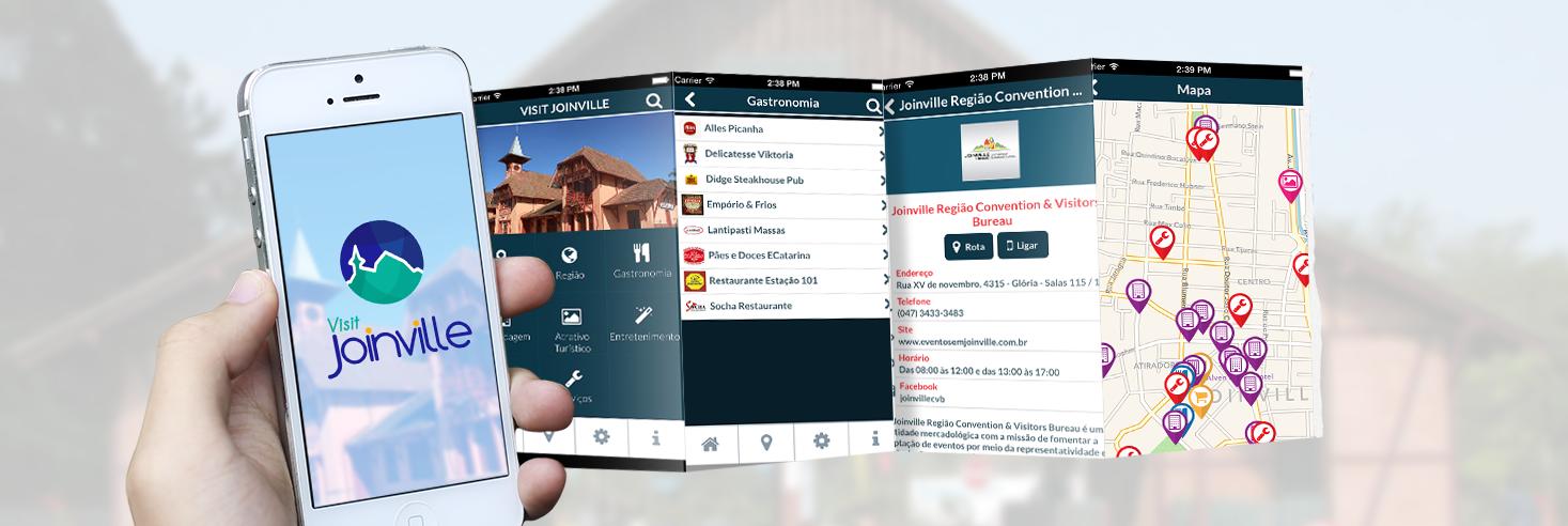 Aplicativo para celular guia cidade