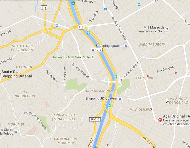 Google Maps São Paulo