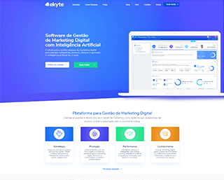 Criação Site para Startup TI