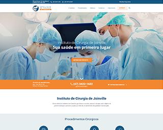Criação Site Centro Médico Joinville ICJ