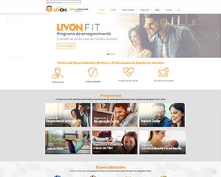 Criação de Site Clínica Livon Joinville