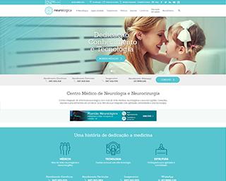 Criação de Site Clínica Médicos Joinville