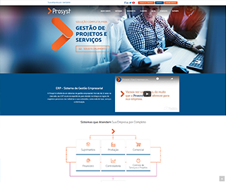 Construção de Website Empresa Software Joinville