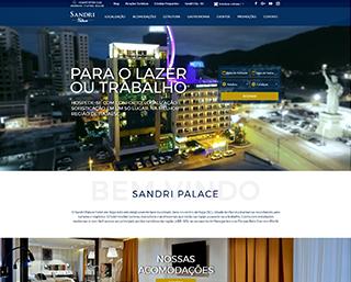 Criação Site Hotel Itajai BC Balneario Camboriu