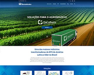 Criação de Site Indústria Joinville