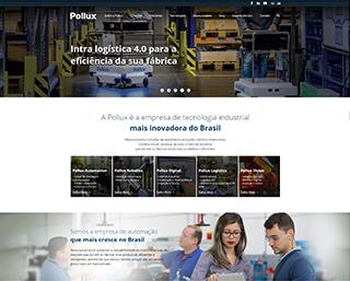 Desenvolvimento Site Indústria Tecnologia Automação Joinville
