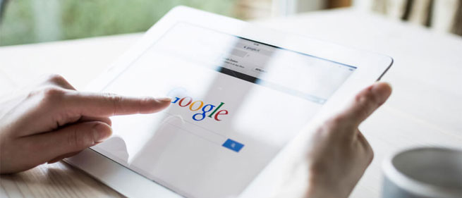 primeira pagina google